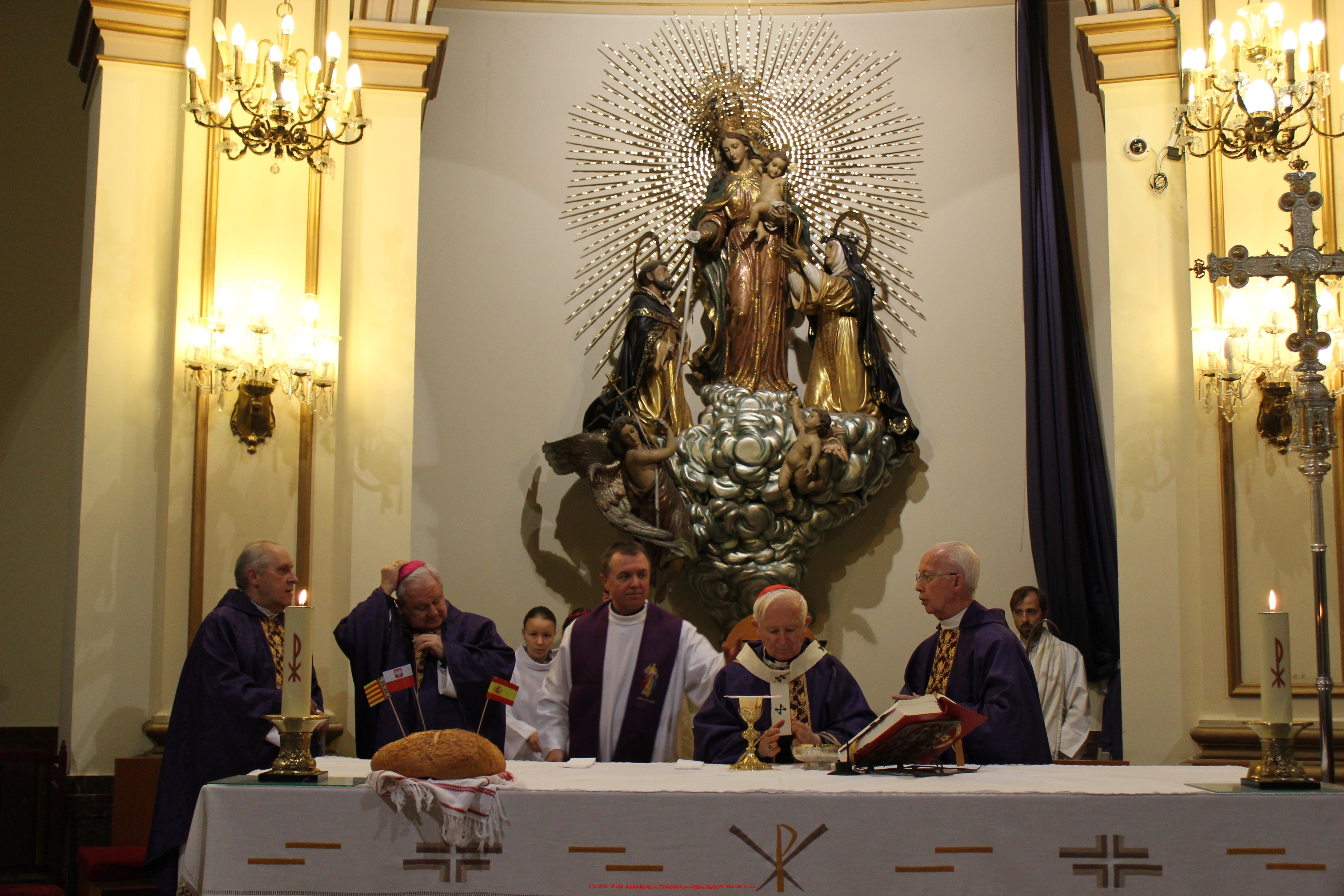 Arcybiskup Walencji w Polskiej Misji Katolickiej w Walencji